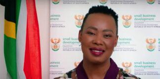 Stella Ndabeni-Abrahams, SA's Minister of Small Business Development