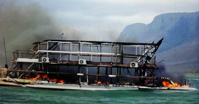 German Tourist's Sons Describe Anguish of Luxury Boat Fire Tragedy in KZN